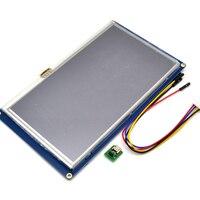 Nextion 7,0 дюймов TFT сенсорный экран 800x480 UART ичм умный ЖК дисплей модуль дисплей Панель для Raspberry Pi