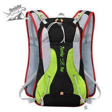 2019 Waterproof Nylon Vest Reflective Backpack for Bicycle Women Men Outdoor Sports Travel Mountain Bike Mini Rucksack XA284WD