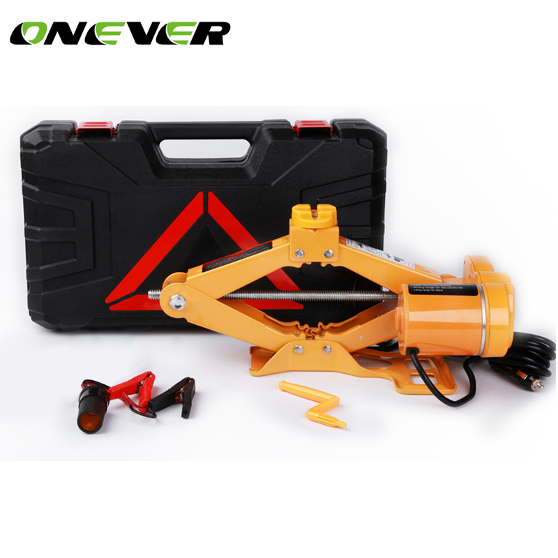 Portable 12V Car Electric Jack 2 Ton car Lift Scissor Jack ...