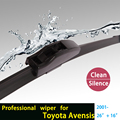 "wiper blades for Toyota Avensis (Verso, from 2001 onwards), 26""+16"" fit standard J hook wiper arms only HY-002"