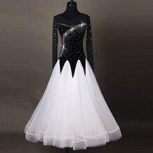 Платья для бальных танцев с блестками; стандартная одежда для бальных танцев; платье для соревнований; детское платье для вальса фокстрот