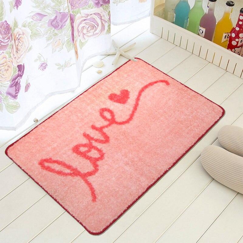 40cmx60cm bathroom bath rug mats cartoon love non. Online Get Cheap Silver Bath Rugs  Aliexpress com   Alibaba Group