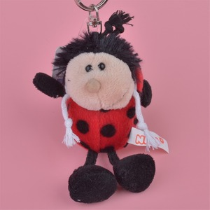 3 Pcs Red Ladybug Small Plush Pendant Toy, Kids Doll Keychain / Keyholder Gift Free Shipping(China)