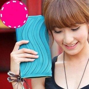 2013 Korean Style Candy Colors Raised Grain Lady Purse Multipurpose Handbag PU Tote Shoulder Hand Bag Free