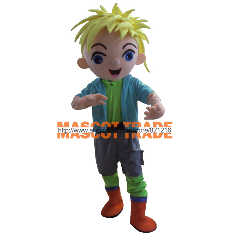Professional New style boy Mascot Costume Fancy Dress Adult Size