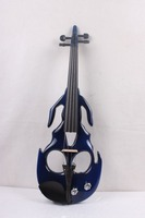 One 4/4 Electric Violin New Shape Many Colors Solid wood Black yellow white ect