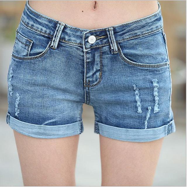 2016 Verano Nueva Marca de Moda Naturaleza Cintura Mujeres Pantalones Cortos