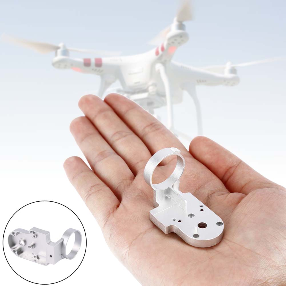 Silver PTZ Gimble Accessories Roll Shaped Stand for DJI Phantom Quadcoter RC A676