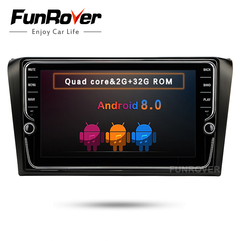 Funrover IPS 2 din car dvd radio Player Android 8.0 for mazda 3 mazda3 2004-2009 car gps Navigation multimedia tape recorder 8 free camera 7 double 2 din car stereo dvd player navigation for mazda 3 mazda3 2004 2009 with gps bluetooth ipod usb sd 3g