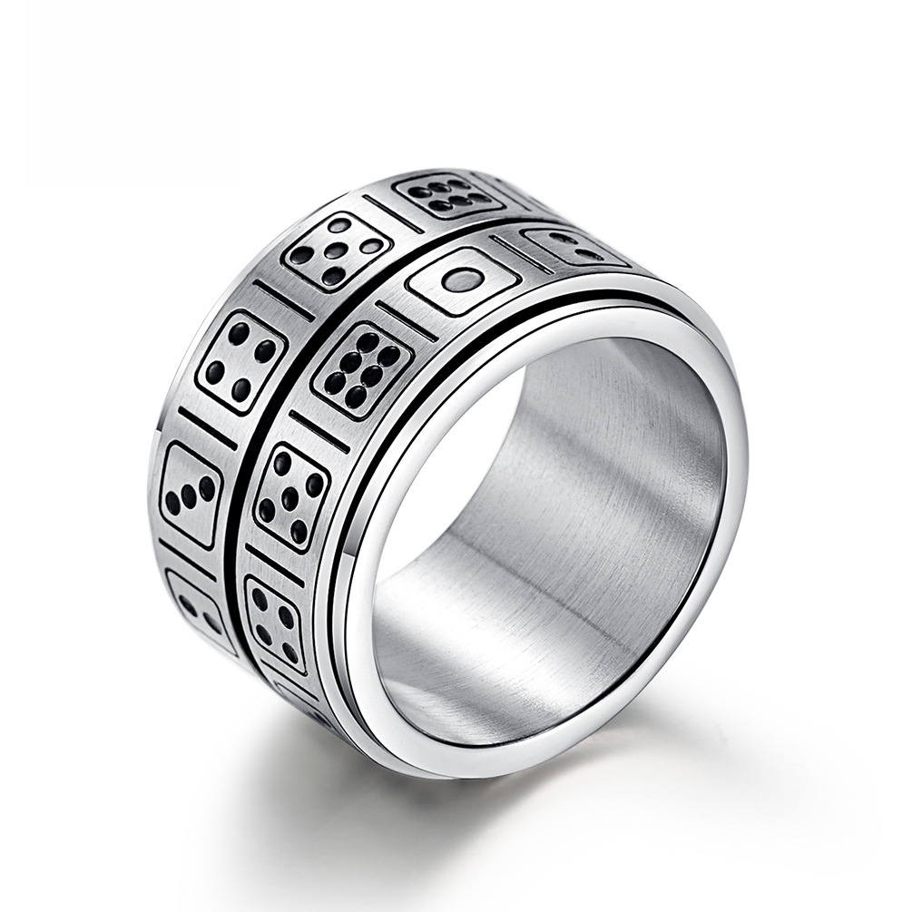 Aliexpress.com : Buy Stainless Steel Double Circle Dice