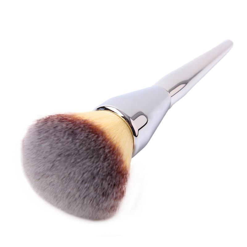 Makeup Cosmetic Brushes Kabuki Face Blush Brush Powder Foundation Tool 3pcs makeup brushes flat contour brush fat head brush oblique head brush for blush foundation powder cosmetic tool