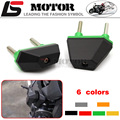Hot Sale Motorcycle Accessories CNC Frame Sliders Crash Protector Fit For Kawasaki Z750 Z800 Z1000 Green