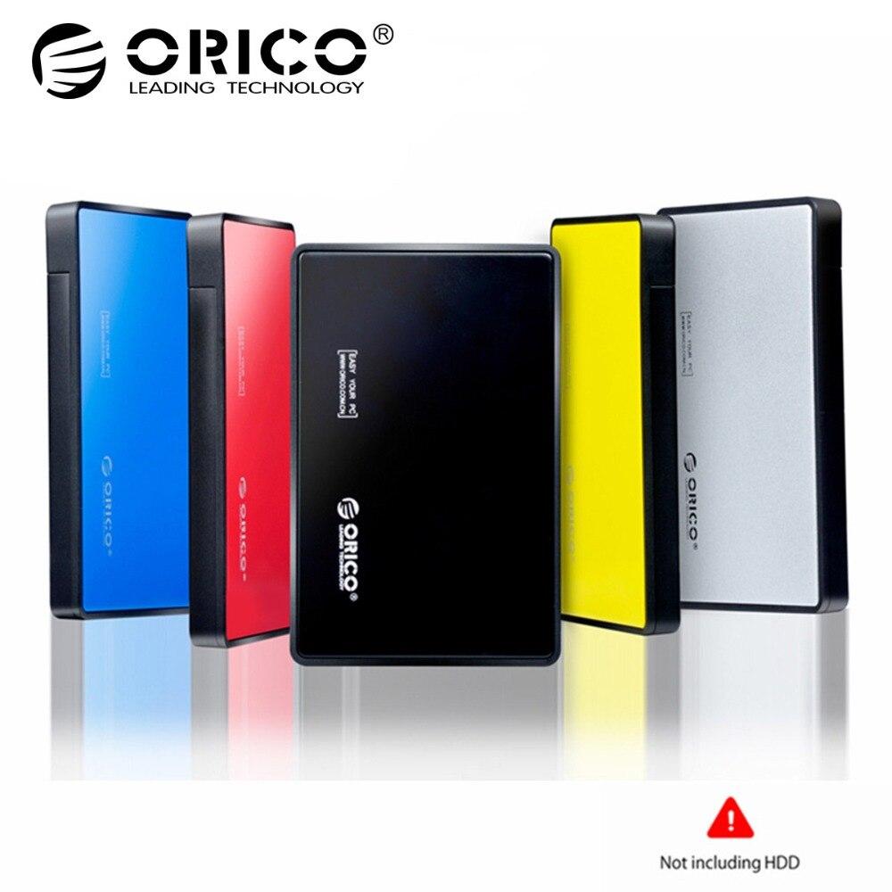 Orico Hdd 2.5 pouce SATA à USB 3.0 SSD Adaptateur Externe Outil-Livraison HDD Cas pour 9.5mm et 7mm Disque Dur Boîte De Rangement