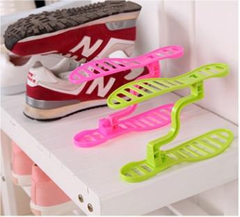 Yaratıcı Tasarım Uzay Tasarruf Ayakkabı Raf Ayakkabı Depolama - Evdeki Organizasyon ve Depolama - Fotoğraf 5