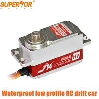 JX PDI HV5212MG 12KG 8.4V 0.07sec Digital Coreless Short Waterproof Servo low profile 1/10 RC drift car yokomo HPI HSP Sakura