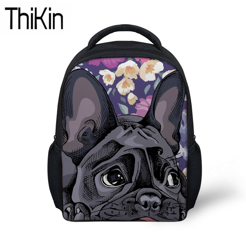 Drawstring Backpack French Bulldogs Xmas Christmas Dog Bags