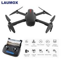 LAUMOX W10 Дрон GPS 5G WI FI с видом от первого лица с разрешением 4 K HD Камера бесщеточный селфи складной Квадрокоптер Дрон Vs ZLRC зверь SG906 CG033 F11