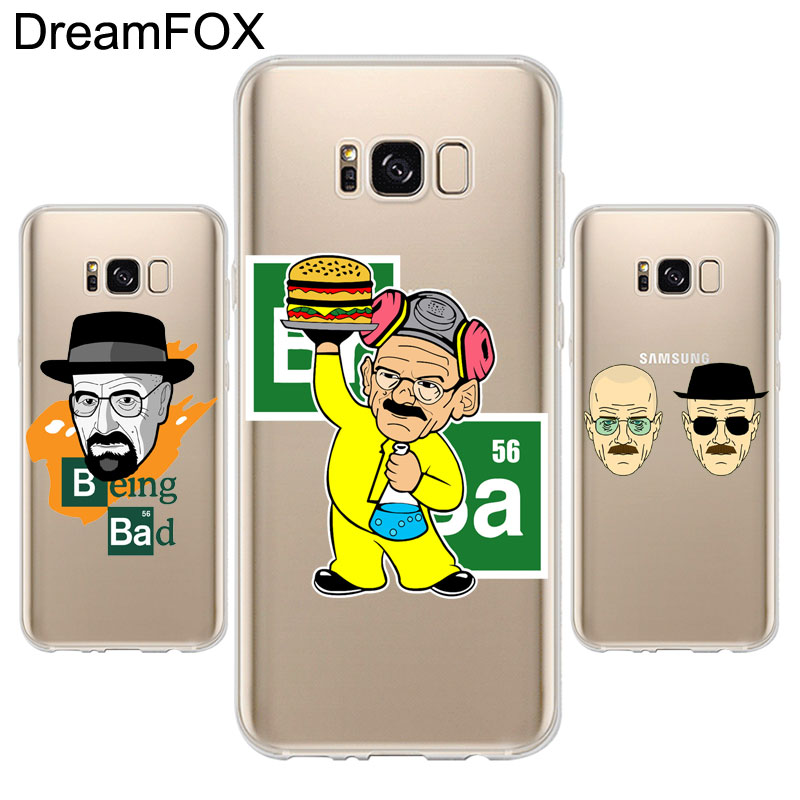 DREAMFOX L317 Breaking Bad Soft TPU Silicone Case Cover For Samsung Galaxy Note S 3 4 5 6 7 8 9 Edge Plus Grand Prime ...