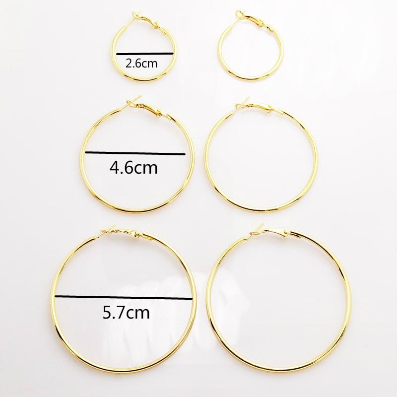 HTB1vVaTSVXXXXbiXpXXq6xXFXXXr - Okrągłe kolczyki w trzech rozmiarach