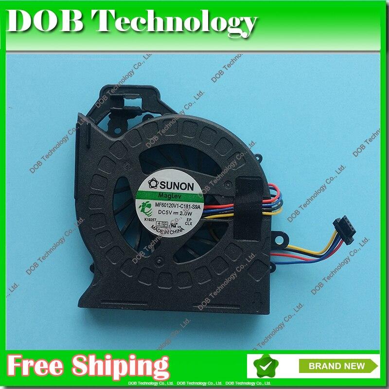 CPU ventilateur De Refroidissement pour HP Pavilion DV6-6169ER DV7-6C51EI DV7-6C51ER DV7-6C52EA DV7-6C52EO DV6-6030EO DV6-6030ER