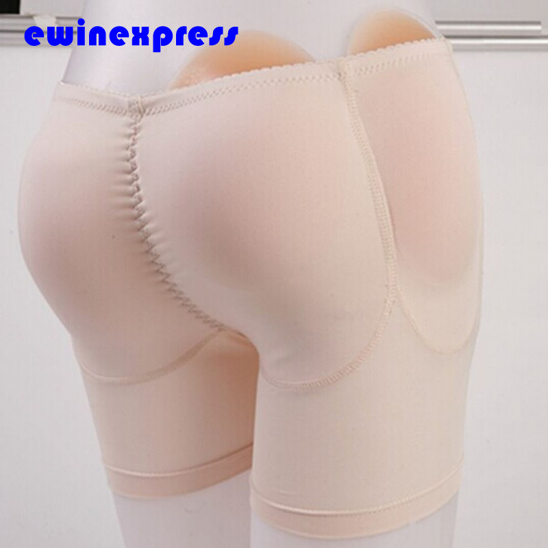 ФОТО S-XL healthy Silicone Padded Panties Shapewear Bum Butt Hip Enhancing Underwear Crossdresser for Butt Enlargement Beauty buttock