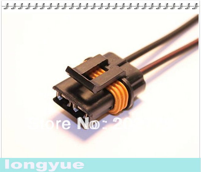 Peachy Longyue 2Pcs Fan Connector Pigtail Wiring Harness Camaro Firebird Wiring 101 Orsalhahutechinfo