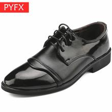 Autumn Italian luxury pointed street shoot classic casual business work mens Brown leather Designer Elegant shoes