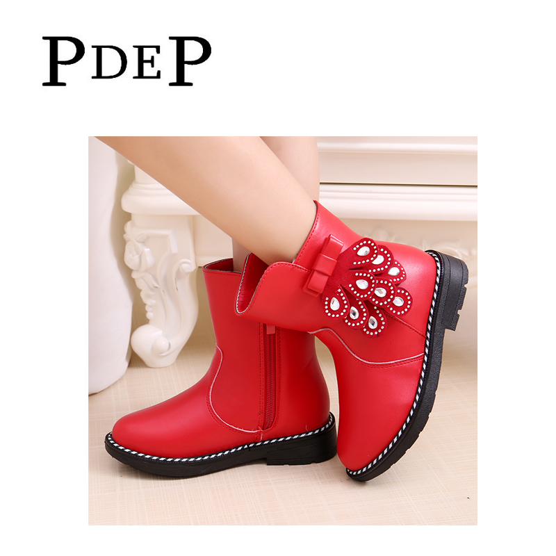 012e1dcfc237 PDEP Little Girls 2016 Winter Boots
