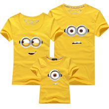 1PCS Minions Cotton Family Matching Outfits