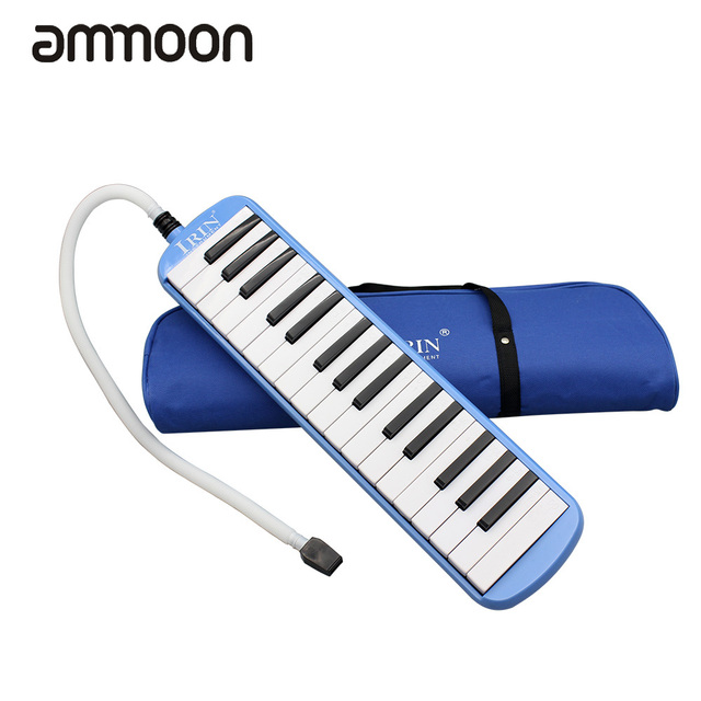 Durable 32 Piano Keys Melodica with Carrying Bag Musical Instrument for Music Lovers Beginners Gift Exquisite Workmanship