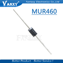 20pcs MUR460R DO 201 4A 600V ประเภทการกู้คืนไดโอด MUR460