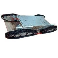 T900 4WD металла WALL E шасси танка отслежены Caterpillar гусеничный мобильный платформы walee DIY FPV игрушка набор
