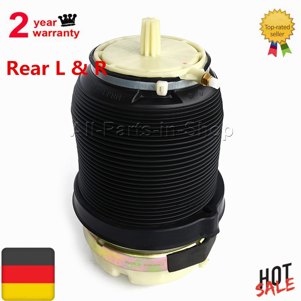 Rear Air Spring Bags Ride Suspension Shock Strut For Audi A6 (C6/4F) Allroad Quattro S6 Avant 2005-2011 4F0616001J /4F0616001J radiator cooling fan relay control module for audi a6 c6 s6 4f0959501g 4f0959501c