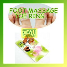 цена на Guaranteed 100% New Magnetic Silicon Foot Massage Toe Ring Weight Loss Slimming Easy&Healthy Wholesale/Retail