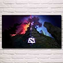 Dota 2 Video Game Art Silk Fabric Poster Prints Home Wall Decor Painting Boy Room Gift 11×20 16×29 20×36 Inches Free Shipping