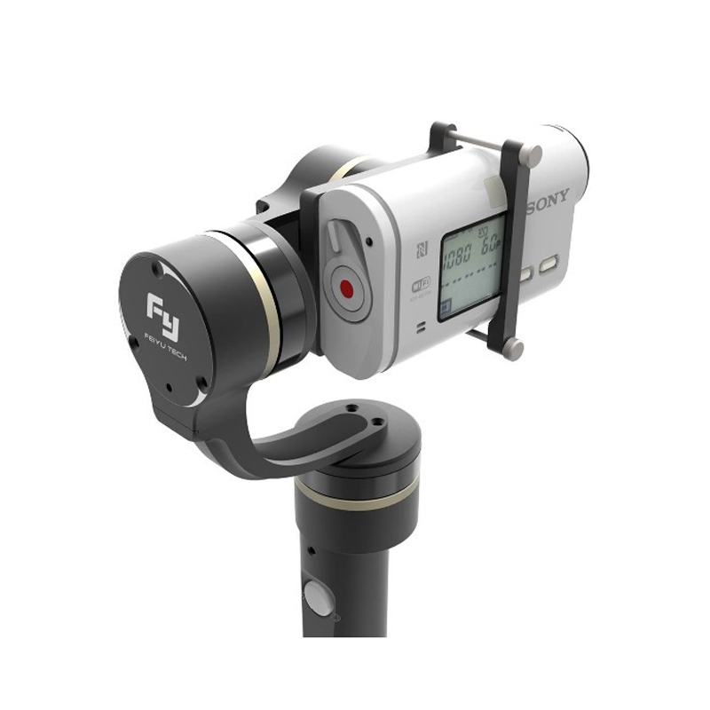 FeiYu Tech Newest Feiyu FY-G4 GS 3-axis Handheld Steady Gimbal for SONY AS20 AS100 AS200 X1000V Sports Video Camera gimbal free shipping feiyu tech g4 gs gimbal 3 axis brushless gimbal for sony hdr az1vr fdr x1000v as series sport auction camera