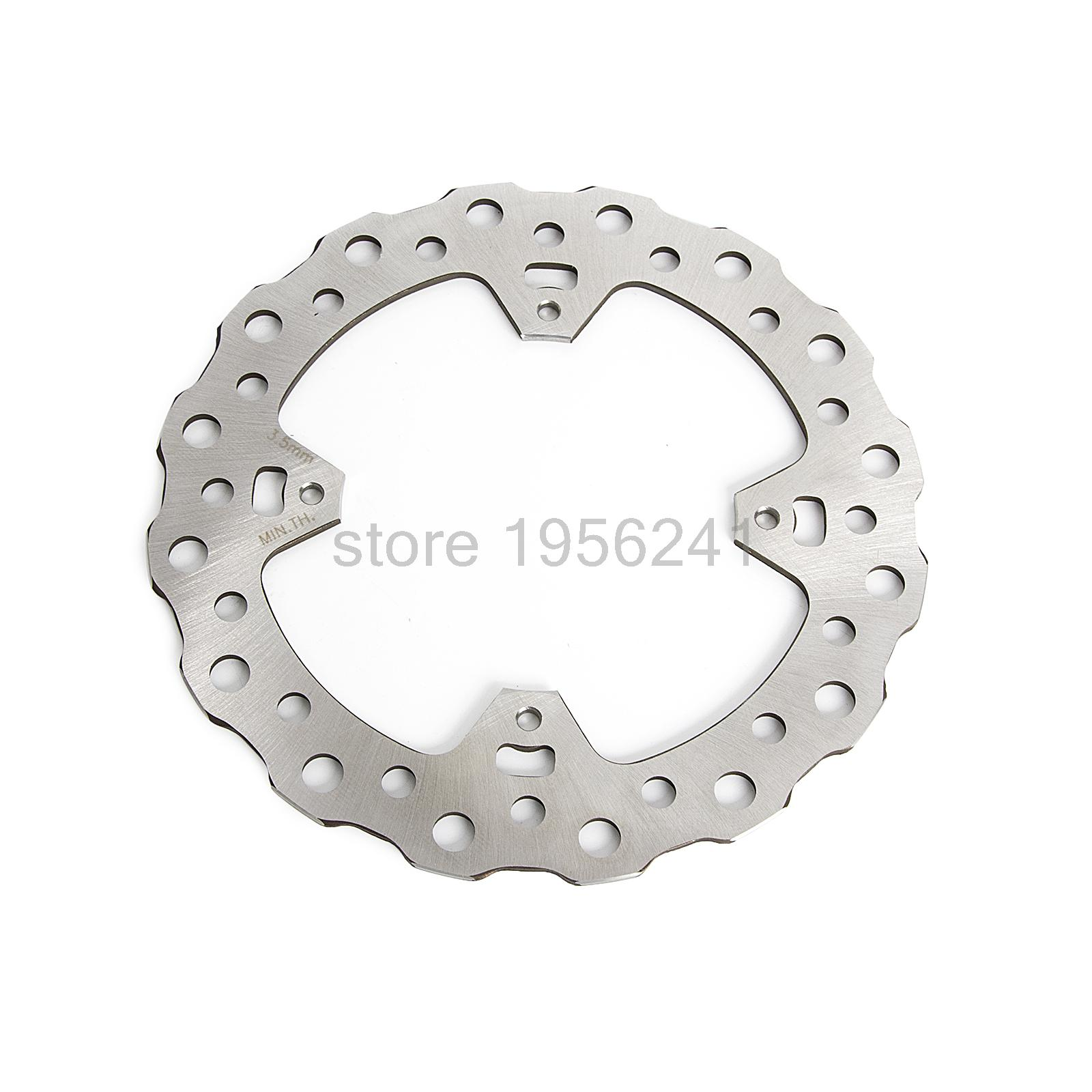 Motorcycle Rear Brake Disc Rotor For Honda CR125 CR250 2002-2007 CRF250 2004-2017 CRF450 2002-2017 CRF450X 2005-2017 CRF 450X for honda crf 250r 450r 2004 2006 crf 250x 450x 2004 2015 red motorcycle dirt bike off road cnc pivot brake clutch lever