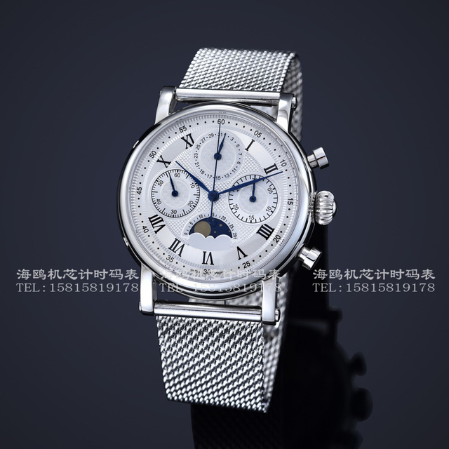 Mechanische uhren  Chinesische seagull chronograph handaufzug mechanische uhren ...