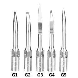 5 шт./компл. стоматологических эндо масштабирования, советы ультразвуковой Эндодонтических файлов скелерные наконечники наконечник для 1 G2