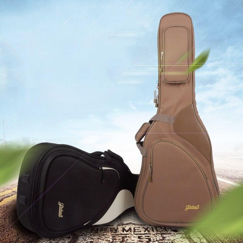 41 Acoustic Classical Guitar Bag Case Backpack Adjustable Shoulder Strap Portable Thicken Padded Black