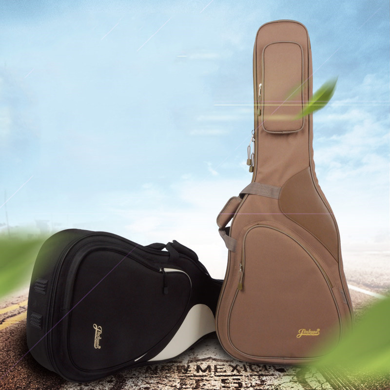 41 Акустическая классическая гитары сумка рюкзак Регулируемый плечевой ремень портативный утолщаются мягкий черный