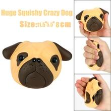 Besar Lucu Kawaii Anjing Mainan Antistress Squeeze Squishy Mainan Lambat Meningkatnya Besar 11.5 cm Melar Hewan Penyembuhan Stres Anak Dewasa Mainan