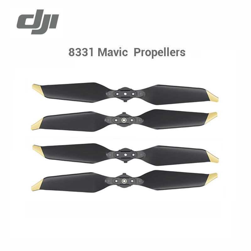 DJI Propellers Low-Noise 8331 Platinum Quick-Release Golden Original And For Mavic Pro-Series