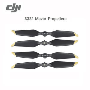 DJI Mavic Pro Platinum 8331 Low-Noise Quick-Release Propellers Golden Silver