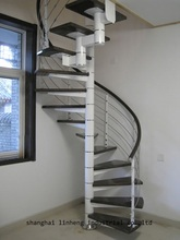 wholesale cheap price and high quality for small house building space saving stairs