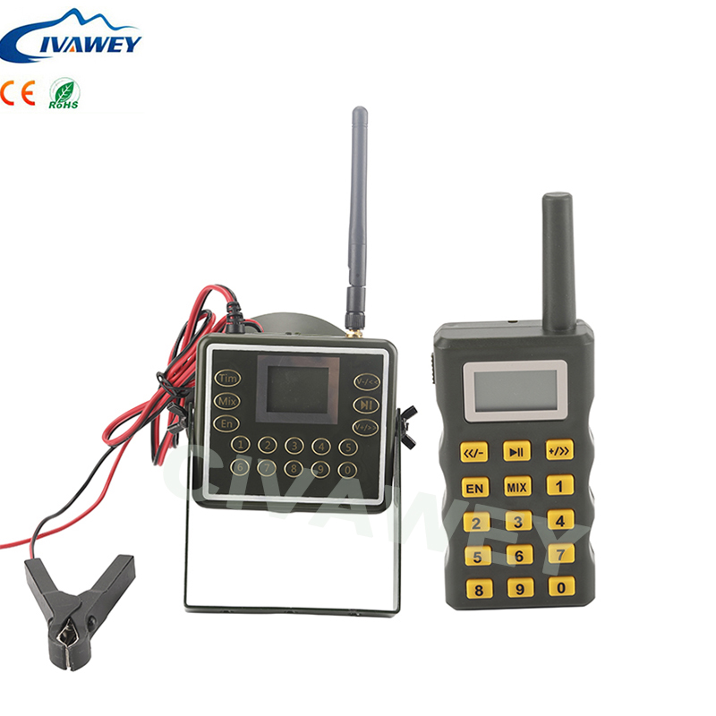 Mix two voice with Remote controller 60W loud hunting bird sounds mp3 player duck goose geese