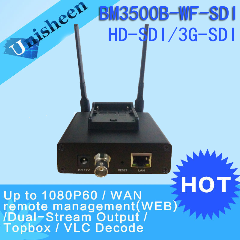 H.265 HEVC H.264 wifi SDI Video Encoder streaming encoder SDI Transmitter live Broadcast encoder wireless iptv H264 encoder