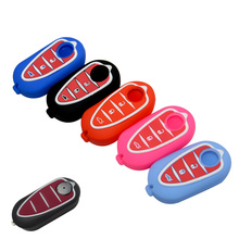 Silicone Case Car Key Fob Cover Shell Skin Protector For Alfa Romeo 159 Mito Giulietta GTA Folding Flip Remote Car Rubber Key