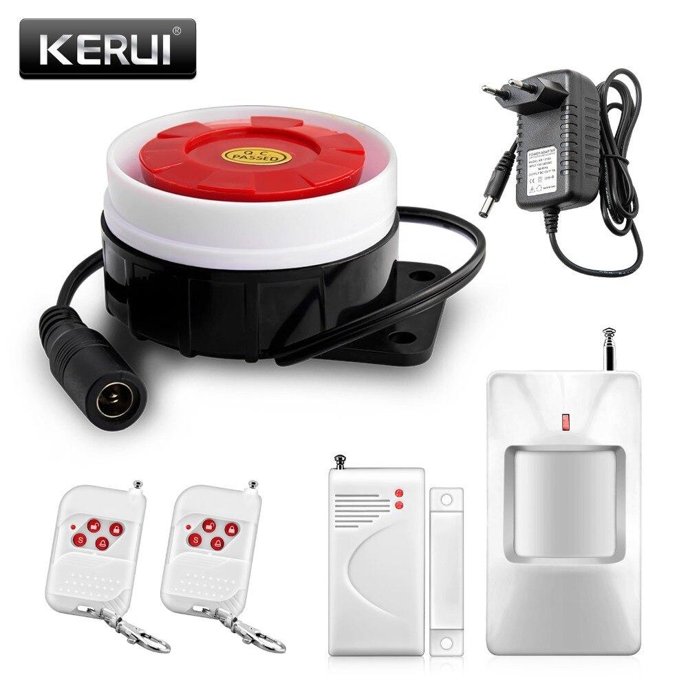 bilder für Neue Einfachste einstellung 433 mhz sensor Drahtlose Urgrade Home Security Einbrecher Super Lauter Alarm Türklingel/Notfall Funktion