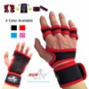 RUNTOP Crossfit WODS Training Grip Gloves Pads Wrist Wrap Brace Support Silicone Workout Fitness Weight Lifting